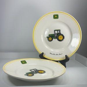 John Deere Tractor Nothing Runs Like plates